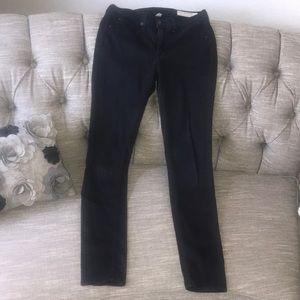 Rag & Bone Black Plush Skinny Pants Women'…